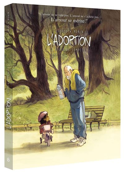 L'adoption - écrin collector tome 1