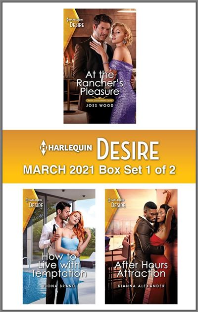 Harlequin Desire March 2021 - Box Set 1 of 2