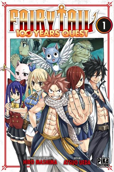 Fairy Tail - 100 Years Quest T01 - 9782811648411 - 4,49 €