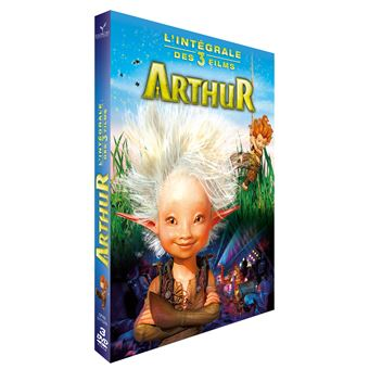 50 Sur Coffret Arthur Et Les Minimoys L Intégrale Des 3 Films Dvd
