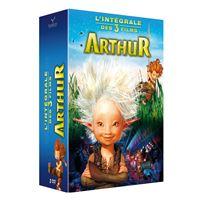 Coffret Arthur et les Minimoys L'intégrale des 3 films DVD