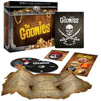 Les Goonies Edition Collector Steelbook Blu-ray 4K Ultra HD