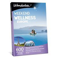 Coffret cadeau Wonderbox Week-end Wellness Europe
