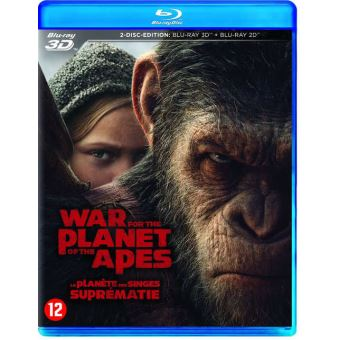 War For The Planet Of The Apes Bluray 3D