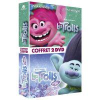 Coffret Les Trolls et Les Trolls de Noël DVD
