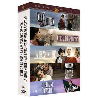 Coffret Les Epées de légende 5 Films DVD