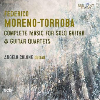 Box Set Moreno-Torroba - Complete Music For Solo Guitar & Guitar Quartets - 5 CD