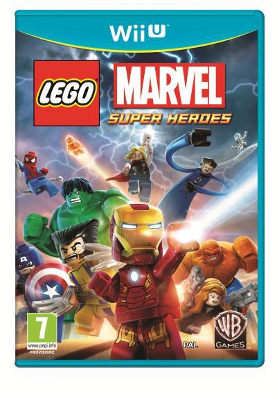 Lego Marvel Super Heroes Wii U - Nintendo Wii U