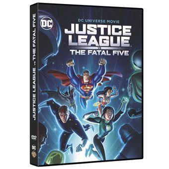 Justice leagueJustice League Vs The Fatal Five DVD