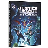 Justice League Vs The Fatal Five DVD