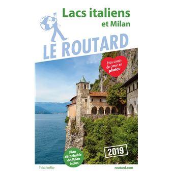best service 970d4 b9aa2 Guide du Routard Lacs italiens et Milan 2019