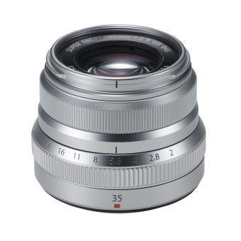 Objectif Fujifilm Fujinon XF 35mm f/2 R WR Argent