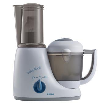 Robot cuiseur 6 en 1 Béaba Babycook Original Plus 912459 Gris et Bleu