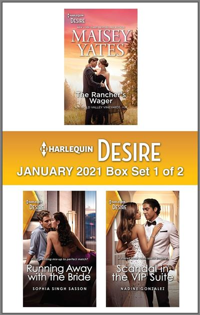Harlequin Desire January 2021 - Box Set 1 of 2
