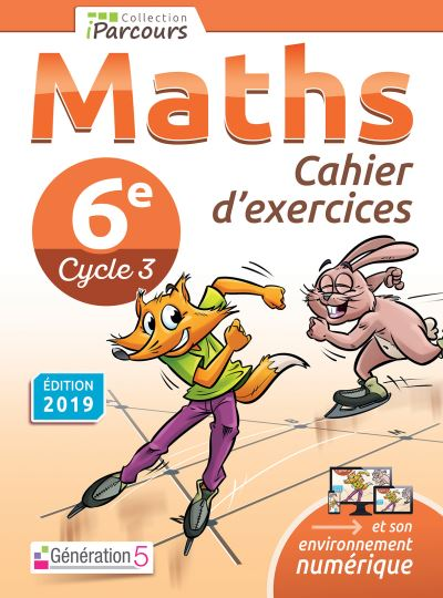 Maths 6eme Cahier D Exercices Workbook Cycle 4 Edition 2019 Broche Katia Hache Achat Livre Fnac