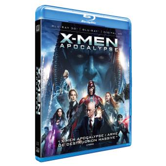 X-MenX-Men : Apocalypse Blu-ray 3D