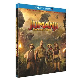 JumanjiJumanji : Bienvenue dans la jungle Blu-ray