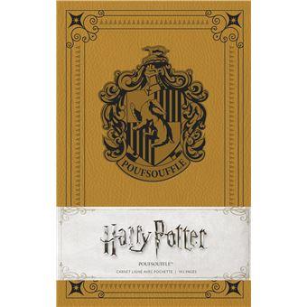 Harry potter carnet poufsouffle