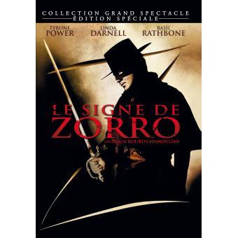 Le Signe de Zorro Combo Blu-Ray + DVD