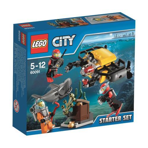 LEGO® City 60091 Ensemble de Démarrage Sous-marin