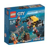 Lego City 60091 Ensemble de Démarrage Sous-marin