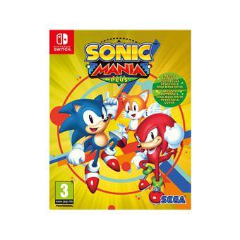 Sonic mania plus FR/NL SWITCH