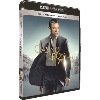 James BondCasino Royale Blu-ray 4K Ultra HD
