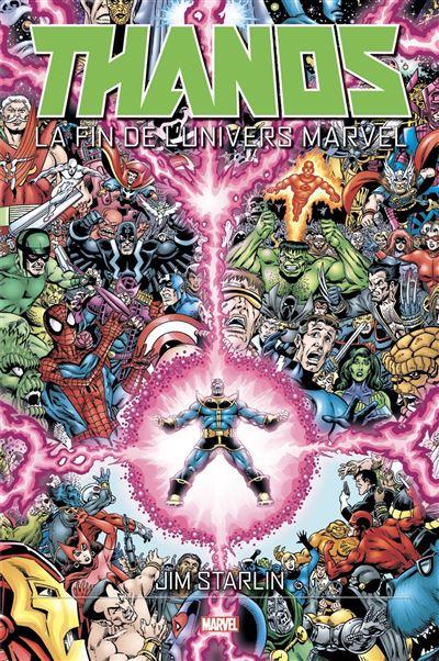 La fin de l'univers Marvel