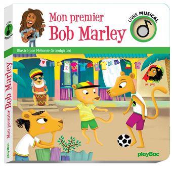 Livre Musical Mon Premier Bob Marley
