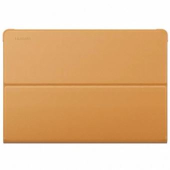 "Huawei Mediapad M3 Lite 10"" Book Cover - Brown"