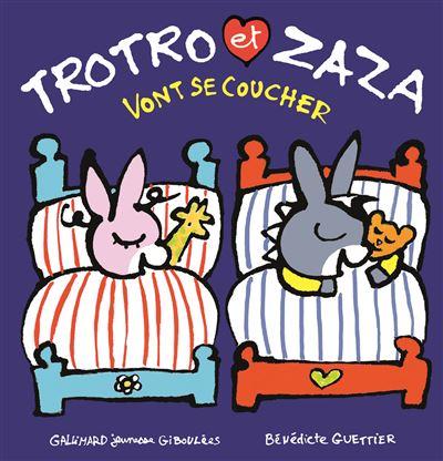 Trotro et Zaza vont se coucher