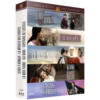 Coffret Les Epées de légende 5 Films Blu-ray