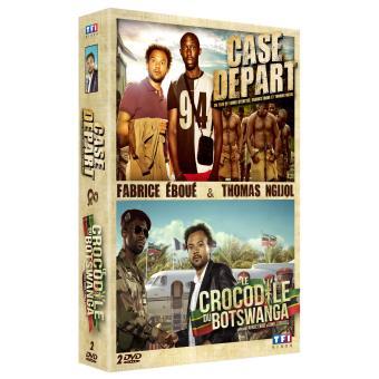 Le crocodile du Botswanga - Case départ Coffret 2 DVD