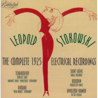 Intégrale des enregistrements electric 1925