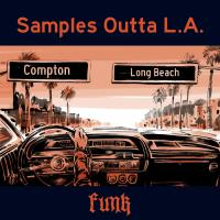 Samples Outta L.A. – Funk Edition limitée couleur rouge Inclus Coupon de téléchargement gratuit