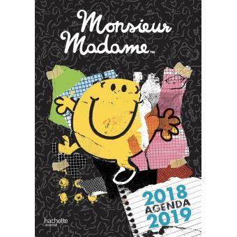Monsieur MadameAgenda 2018-2019 Monsieur Madame