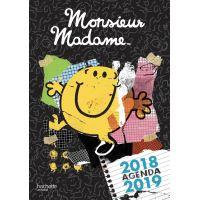 Agenda 2018-2019 Monsieur Madame