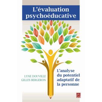 L'évaluation psychoéducative