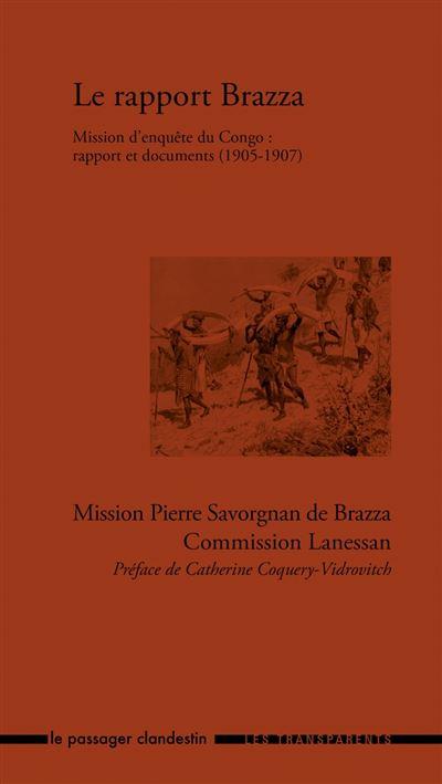 Le rapport Brazza, mission d'enquête du Congo