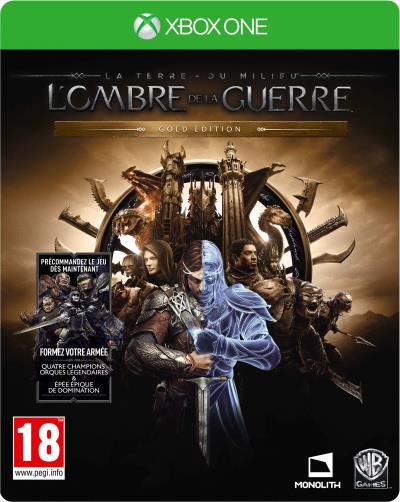 La Terre du Milieu L'Ombre de la Guerre Edition Gold Xbox One