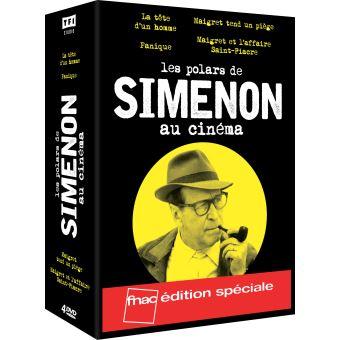 Coffret Georges Simenon 4 Films Edition spéciale Fnac DVD