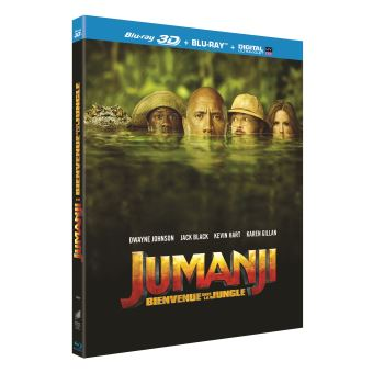 JumanjiJUMANJI BIENVENUE DANS LA JUNGLE-FR-BLURAY 3D