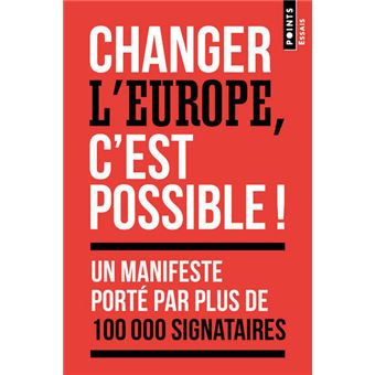 Changer L Europe C Est Possible