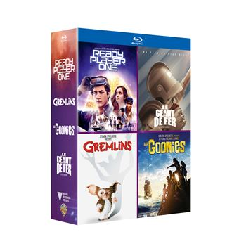 Coffret Ready Player One Gremlins Les Goonies Le géant de fer Blu-ray