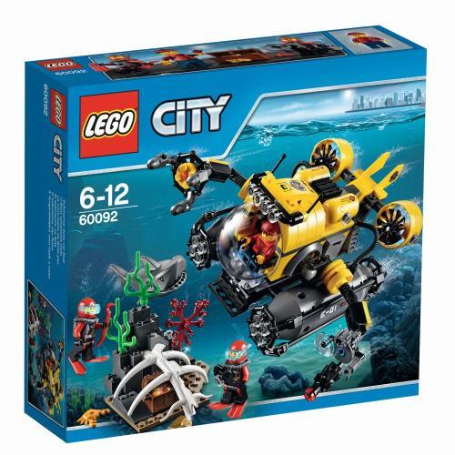 LEGO® City 60092 Le Sous-marin