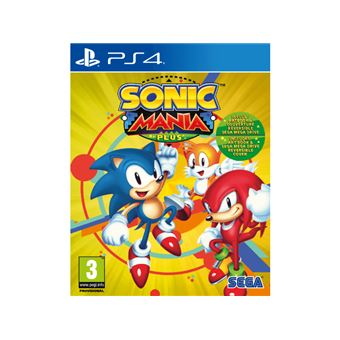 Sonic mania plus FR/NL PS4