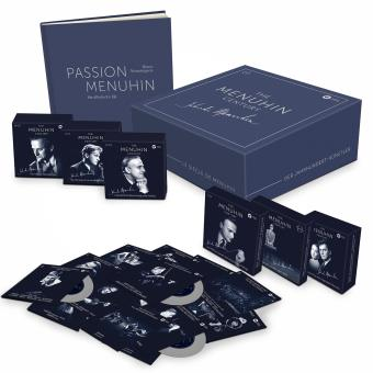 The Menuhin century Coffret 80 CD + 11 DVD Supervision Bruno Monsaingeon + Deluxe Book