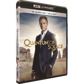 James BondQuantum Of Solace Blu-ray 4K Ultra HD