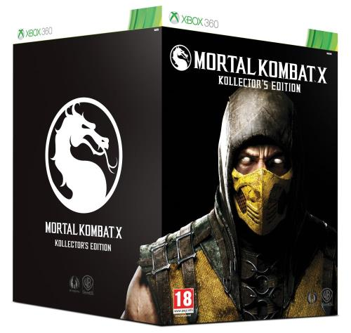 Mortal Kombat X Collector Xbox 360 - Xbox 360