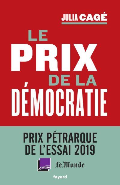 Le prix de la démocratie - 9782213706412 - 15,99 €